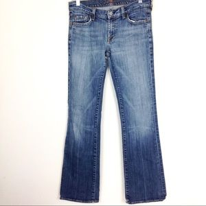 7 For All Mankind Bootcut Jeans 29x32 - N402